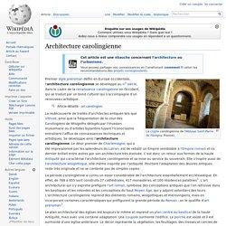 Architecture carolingienne