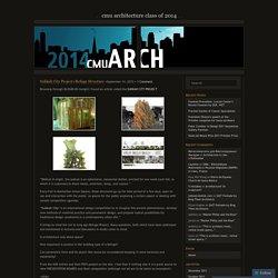 CMU Architecture Class of 2014