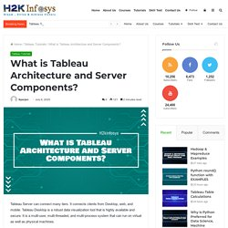 What is Tableau Architecture and Server Components? - H2kinfosys Blog