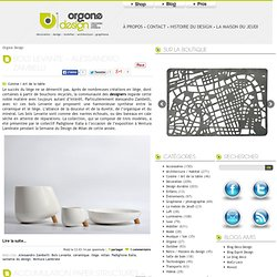 Blog Design, Blog architecture, decoration design, mobilier, graphisme - Orgone Design : le blog du design contemporain