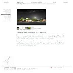 If architecture contemporaine Toulouse Haute-Garonne & Lavaur Tarn - complexe sportif multisports BBC