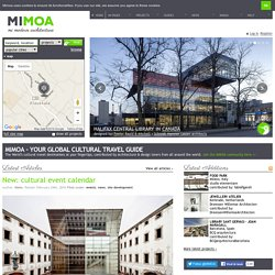 MIMOA | Modern Architecture Guide | Contributed, organised, and mapped by you.