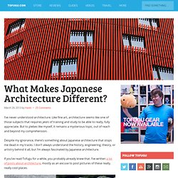 What Makes Japanese Architecture Different?