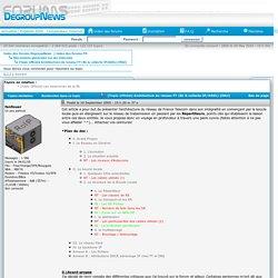 [Topic officiel] Architecture du reseau FT (BL & collecte IP/ADSL) [MAJ] » Discussions générales sur les télécoms » DegroupNews - Forums de discussions