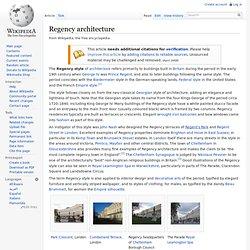 Regency architecture