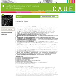 Fédération Nationale des Conseils d'Architecture, d'Urbanisme et de l'Environnement