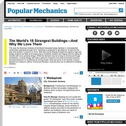 Strange Buildings and Architecture - Guggenheim, Habitat 67 and Other Strange Buildings