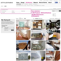 Architecture - architecture at STYLEPARK