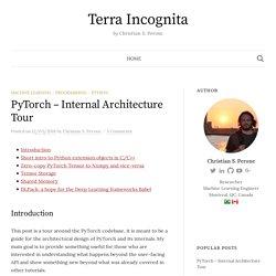 PyTorch – Internal Architecture Tour