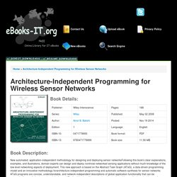 Architecture-Independent Programming for Wireless Sensor Networks PDF Download Free