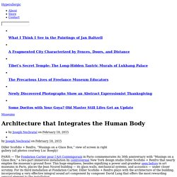Architecture that Integrates the Human Body