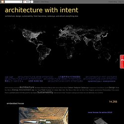 architecture with intent: embedded house