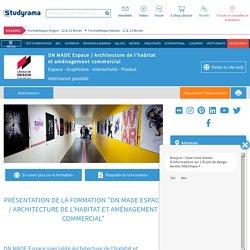 DN MADE Espace / Architecture de l'habitat et aménagement commercial - L'École de design Nantes Atlantique (Espace - Graphisme - Interactivité - Produit)
