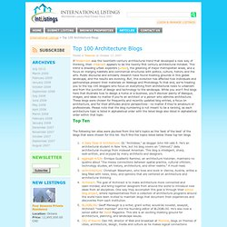 International Listings Blog