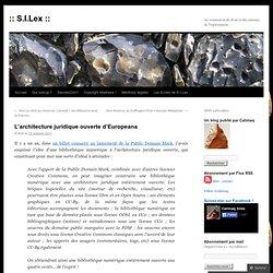 L'architecture juridique ouverte d'Europeana
