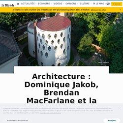 Architecture: Dominique Jakob, Brendan MacFarlane et la maison de Constantin Melnikov à Moscou