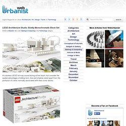 LEGO Architecture Studio: Boldly Monochromatic Block Set