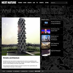 Kinetic architecture