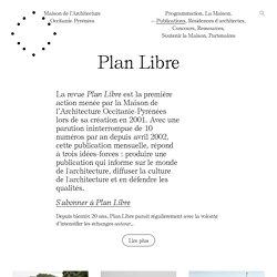Plan Libre — Maison de l'Architecture Occitanie — Pyrénées