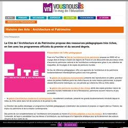 Histoire des Arts : Architecture et Patrimoine