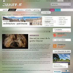 Une nuit au coeur de la grotte Chauvet / Architecture - Patrimoine