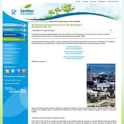 Carrefour éducation- architecture de la ville de Québec