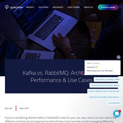Kafka vs. RabbitMQ: Architecture, Performance & Use Cases