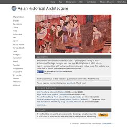Asian Historical Architecture: a Photograp