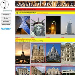 World Architecture-1000 Places To See Before You Die