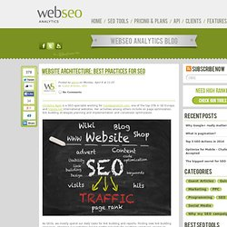 Website architecture: best practices for SEO