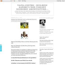 YAJNA CENTRE 12/05/10 FRANCOIS TRAORE FAIT LA PROMOTION DU COTON BT DE MONSANTO...