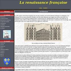 L'architecture - La renaissance française