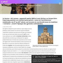 Art et architecture romans - Spécialités