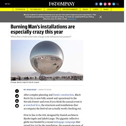 Burning Man 2018 architecture can be pretty spectacular