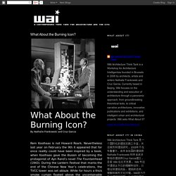 WAI Architecture Think Tank: What About the Burning Icon?