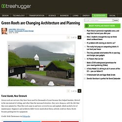 Green Roofs are Changing Architecture and Planning