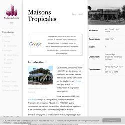 Maisons Tropicales — Architecture du Monde - WikiArquitectura