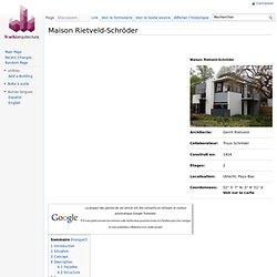 Maison Rietveld-Schröder - WikiArquitectura