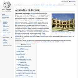 Architecture du Portugal