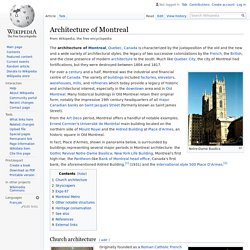 Architecture of Montreal - Wikipedia