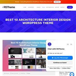 Best 10 Architecture Interior Design WordPress Theme