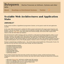 Bytepawn - Scalable Web Architectures and Application State