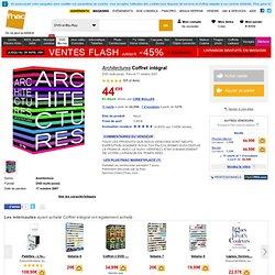 Architectures Coffret intégral - Fnac.com - Coffret DVD - DVD multi-zones -