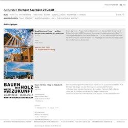 Architekten Hermann Kaufmann ZT GmbH - Ankündigungen