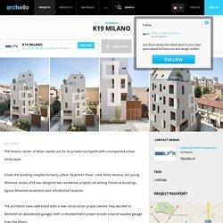 LPzR architetti associati - Project - K19 Milano