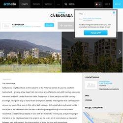 Buzzi studio d'architettura - Project - Cà Bugnada