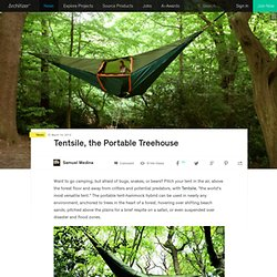 Tentsile, the Portable Treehouse