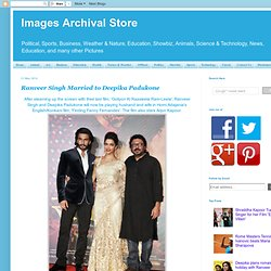 Ranveer Singh Married to Deepika Padukone
