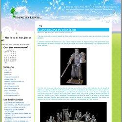 ENTRE LES LIGNES… » Blog Archive » L'ADOUBEMENT DU CHEVALIER