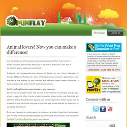 » Blog Archive » Animal lovers! Now you can make a difference!